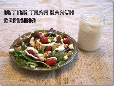 homemade ranch dressing photo